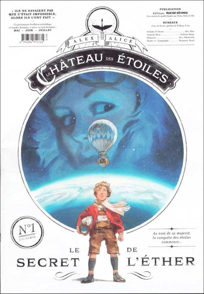 Couverture de Le château des étoiles -1- Le Secret de l'éther