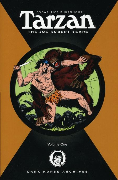 Couverture de Tarzan: The Joe Kubert Years (2005) -INT01- Volume 1