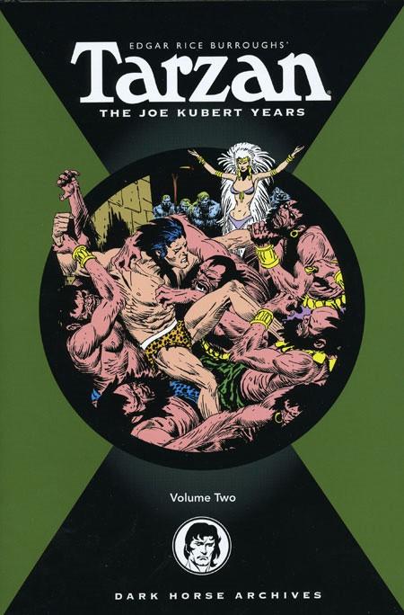Couverture de Tarzan: The Joe Kubert Years (2005) -INT02- Volume 2