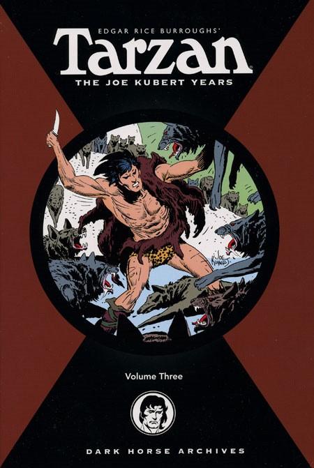 Couverture de Tarzan: The Joe Kubert Years (2005) -INT03- Volume 3