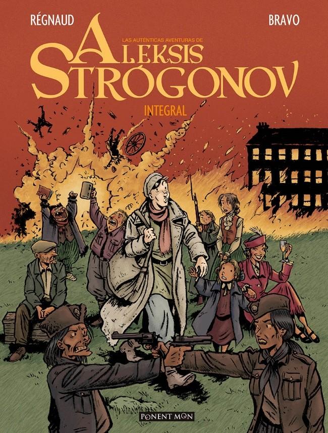 Couverture de Aleksis Strógonov (Las Auténticas Aventuras De) - Las Auténticas Aventuras de Aleksis Strógonov