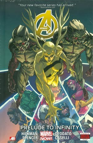 Couverture de Avengers Vol.5 (Marvel comics - 2013) -INT03- Prelude to Infinity