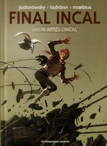 Couverture de Incal (Final) -INT- Final Incal - L'intégrale