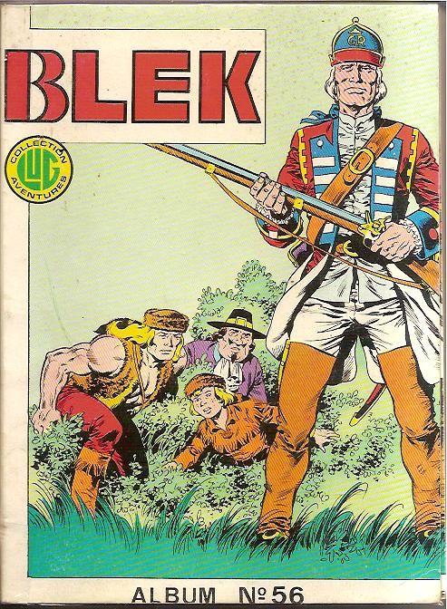 Couverture de Blek (Les albums du Grand) -Rec56- Album N°56 (du n°409 au n°411)
