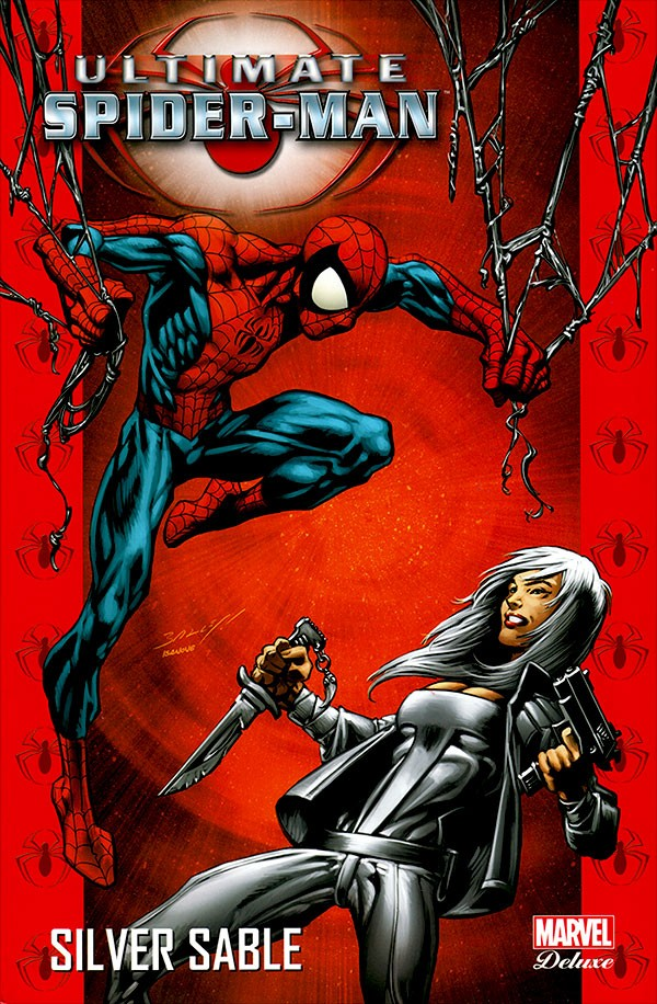 Couverture de Ultimate Spider-Man (Marvel Deluxe) -8- Silver Sable