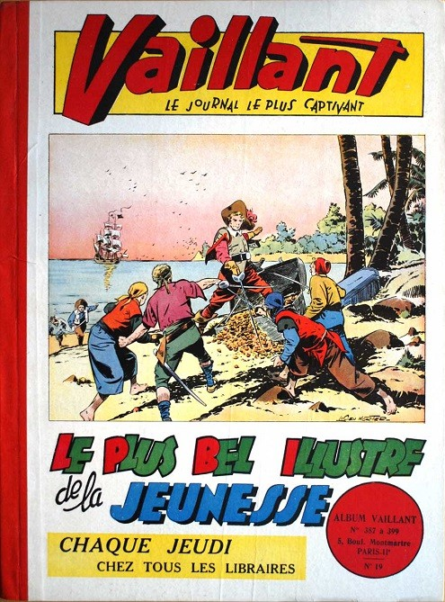 Couverture de (Recueil) Vaillant (Album du Journal - 1re série) -19- n° 387 (10/1952) à 399 (01/1953)