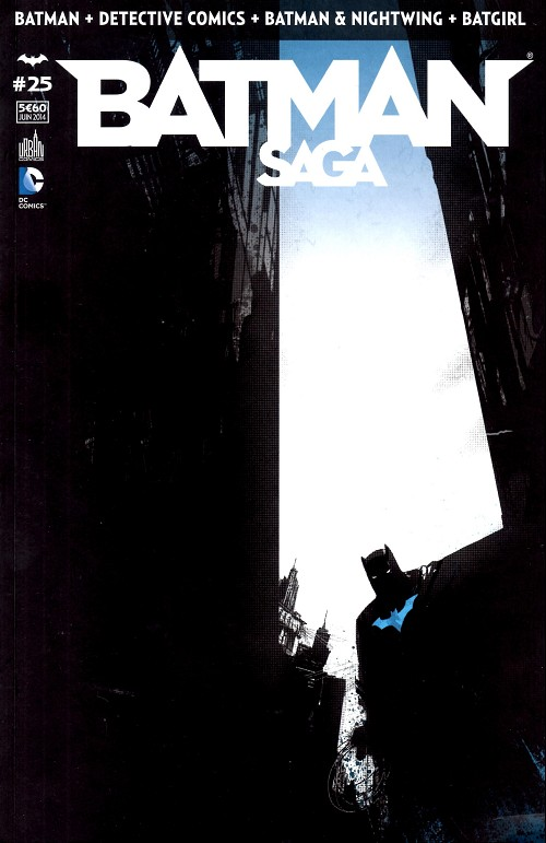 Couverture de Batman Saga -25- Numéro 25