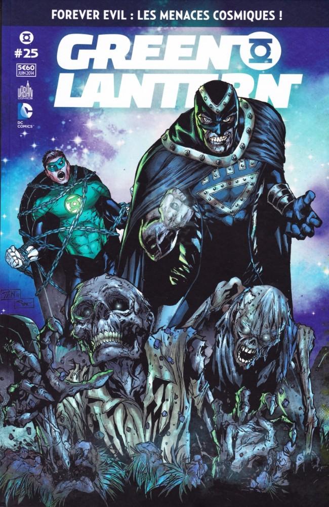 Couverture de Green Lantern Saga -25- Forever Evil : les Menaces cosmiques !