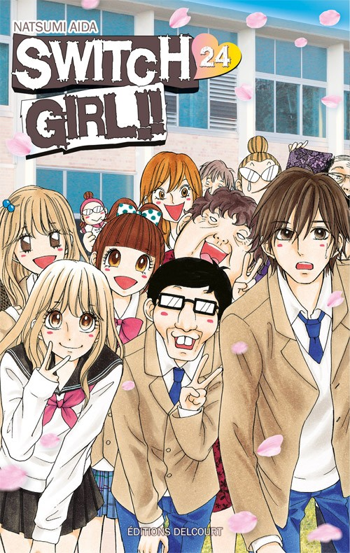 Couverture de Switch Girl !! -24- Tome 24