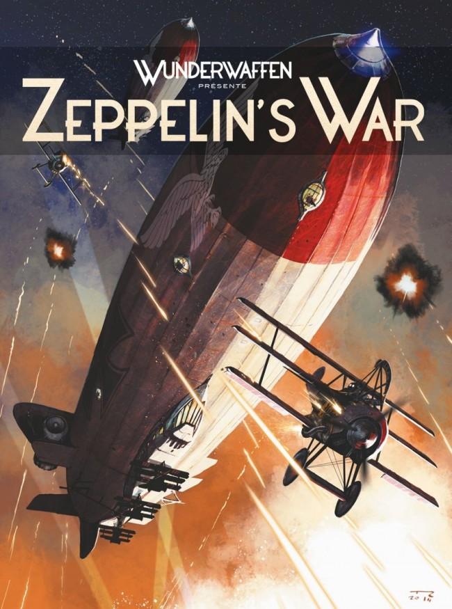 Couverture de Zeppelin's War -1- Les Raiders de la nuit