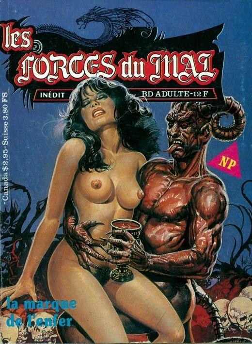 Couverture de Les forces du Mal (Novel Press) -1- La marque de l'enfer