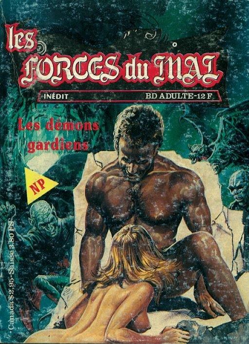 Couverture de Les forces du Mal (Novel Press) -2- Les démons gardiens