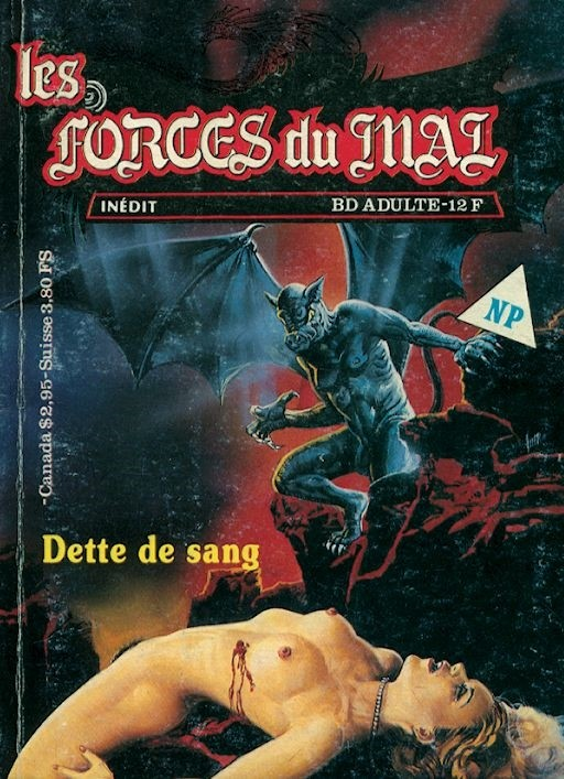 Couverture de Les forces du Mal (Novel Press) -3- Dette de sang
