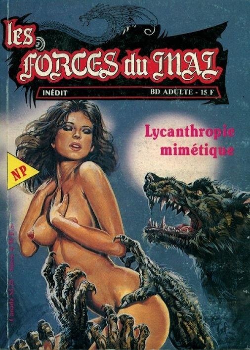 Couverture de Les forces du Mal (Novel Press) -4- Lycanthropie mimétique