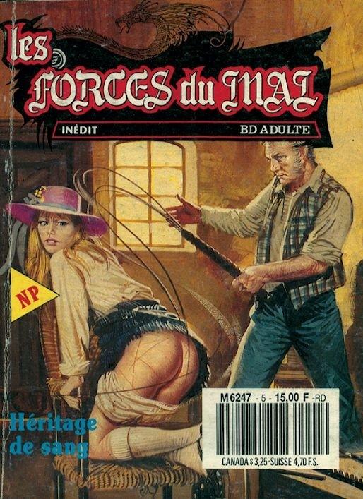 Couverture de Les forces du Mal (Novel Press) -5- Héritage de sang