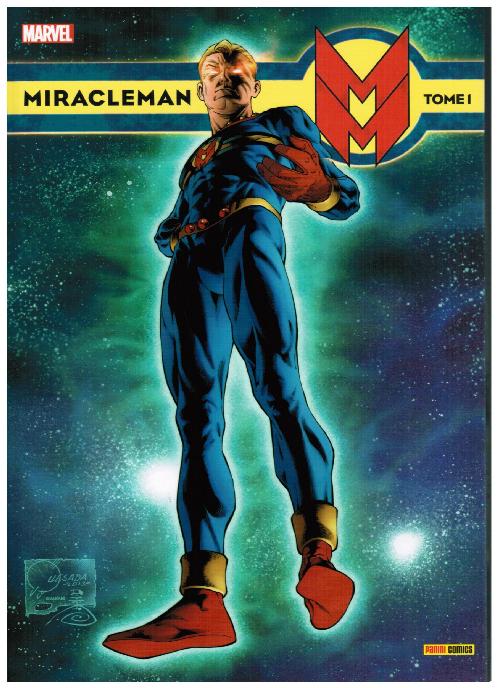 Couverture de Miracleman (Panini) -1- Un rêve éthéré