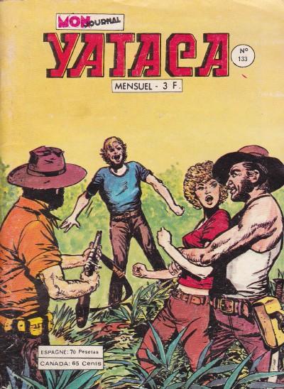 Couverture de Yataca (Fils-du-Soleil) -133- Le train de la mort