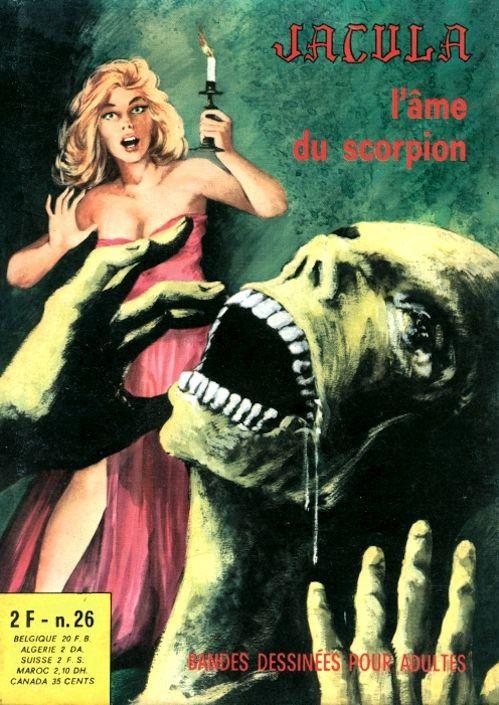 Couverture de Jacula -26- L'âme du scorpion