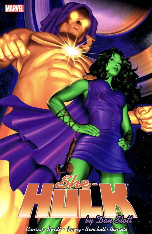 Couverture de She-Hulk (2005) -INT02- She-Hulk by Dan Slott: The Complete Collection volume 2
