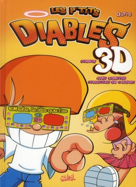 Couverture de Les p'tits diables -3D3- Compil'3D
