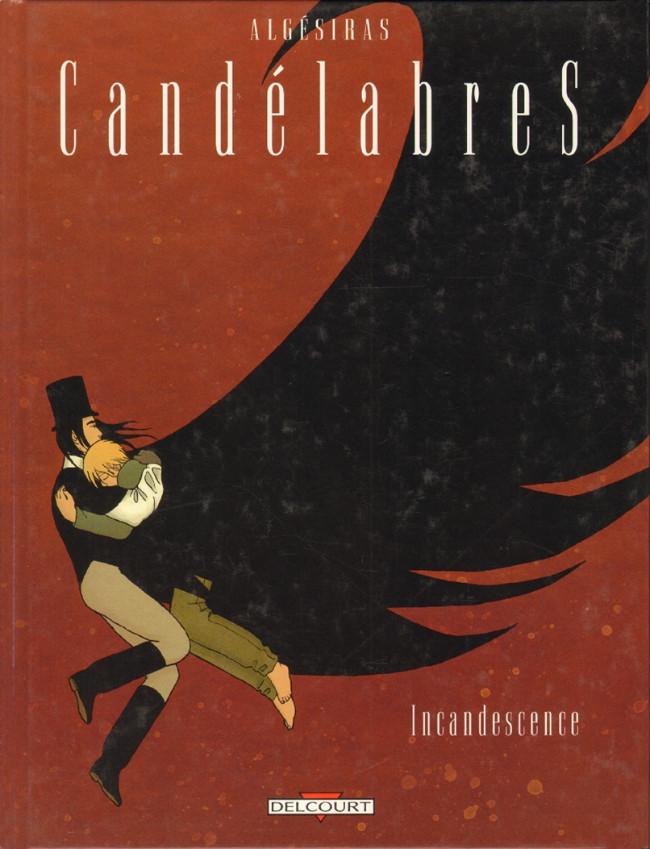 Couverture de Candélabres -3- Incandescence