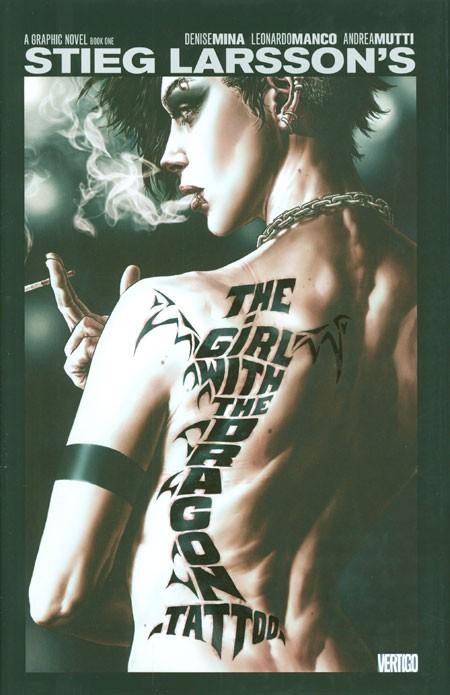 Couverture de Millennium: The Girl with the Dragon Tattoo (2012) -1- The Girl with the Dragon Tattoo, Book 1
