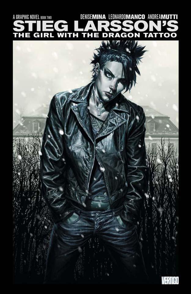 Couverture de Millennium: The Girl with the Dragon Tattoo (2012) -2- The Girl with the Dragon Tattoo, Book 2
