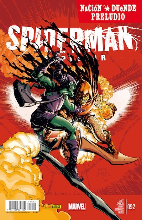 Couverture de Asombroso Spiderman -92- Nación Duende: Preludio