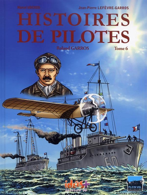 Couverture de Histoires de pilotes -6- Roland Garros