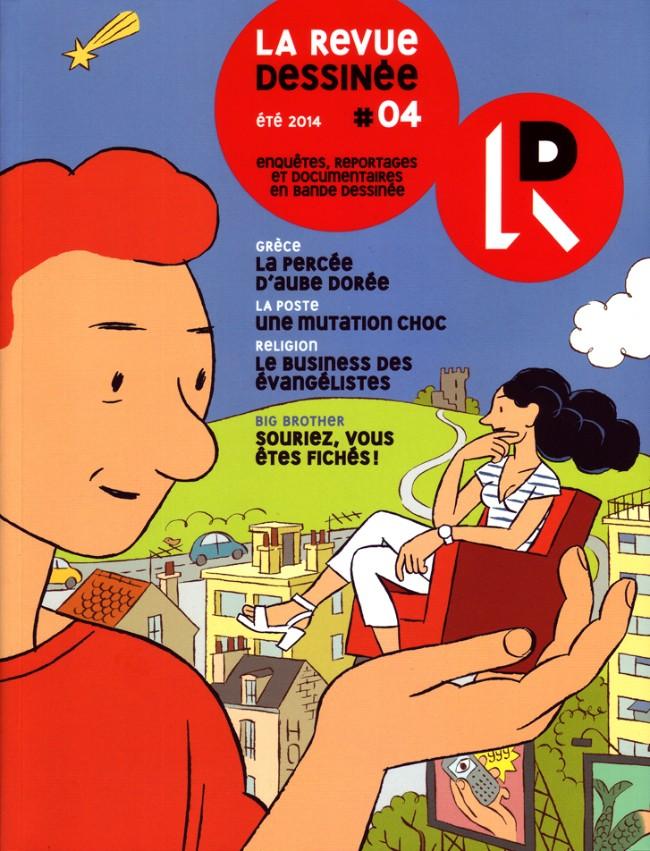 Couverture de La revue dessinée -4- #04
