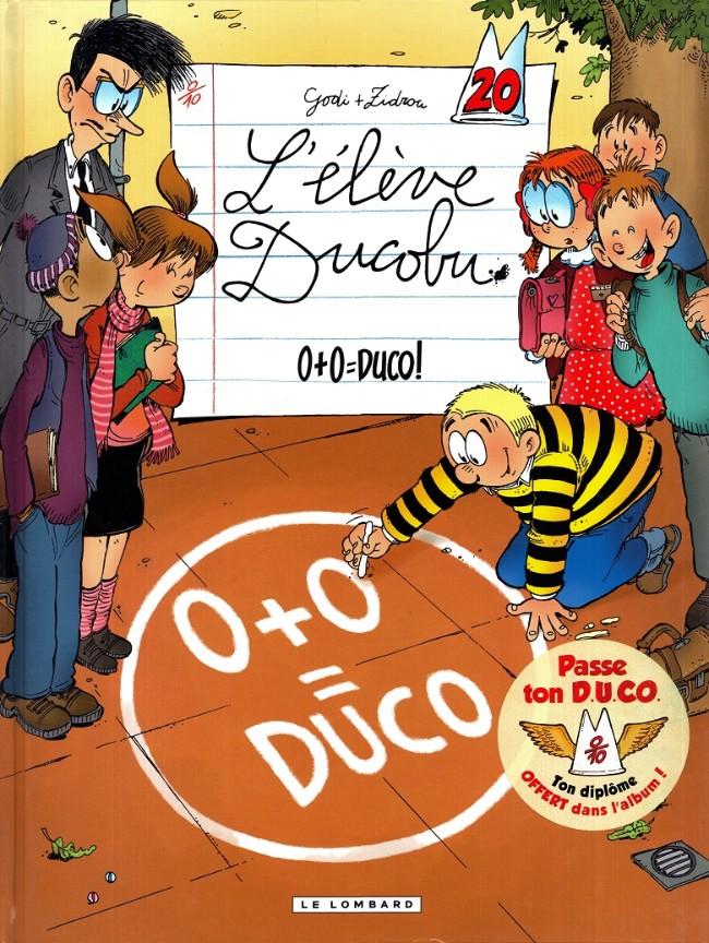 Couverture de L'Élève Ducobu -20- 0+0=Duco!