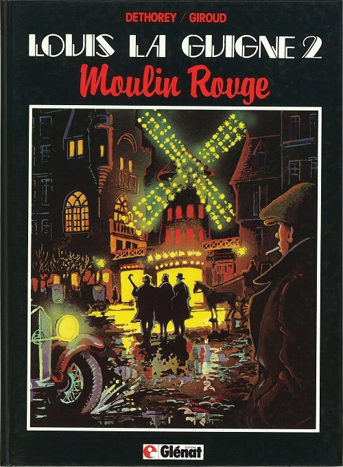 Couverture de Louis la Guigne -2- Moulin Rouge