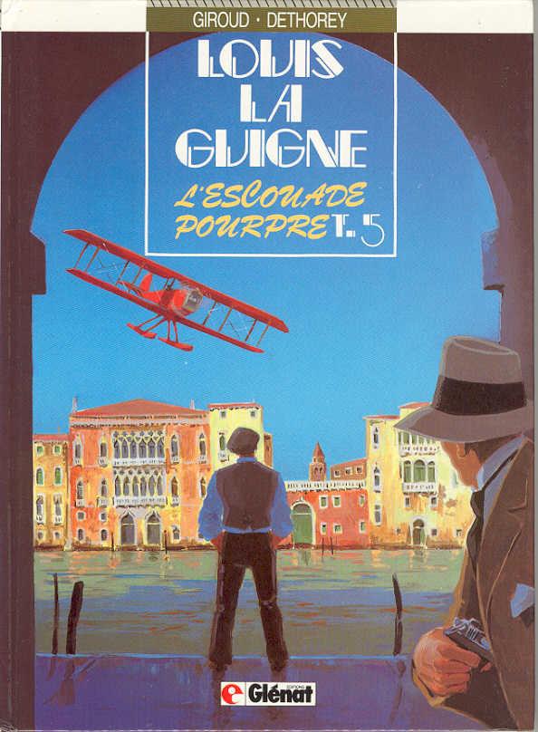 Couverture de Louis la Guigne -5- L'escouade pourpre