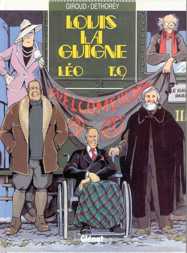 Couverture de Louis la Guigne -9- Léo