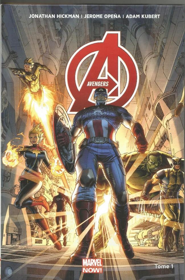 Couverture de Avengers (Marvel Now!) -1- Le Monde des Avengers