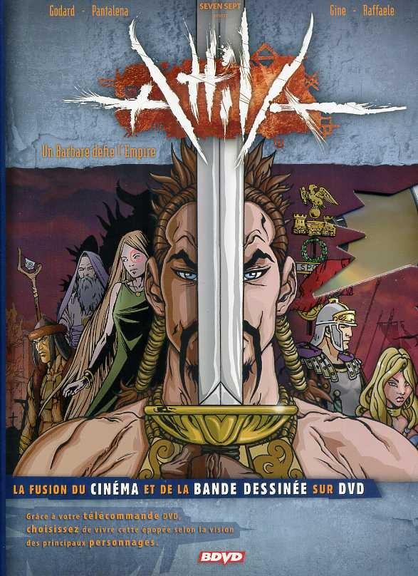 Couverture de Attila - Attila - Un Barbare défie l'Empire