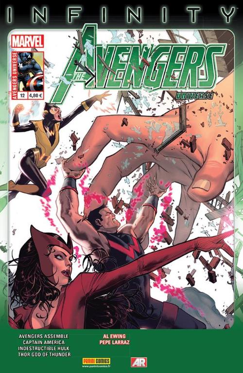 Couverture de Avengers Universe (1re série - 2013) -12- Problème de taille