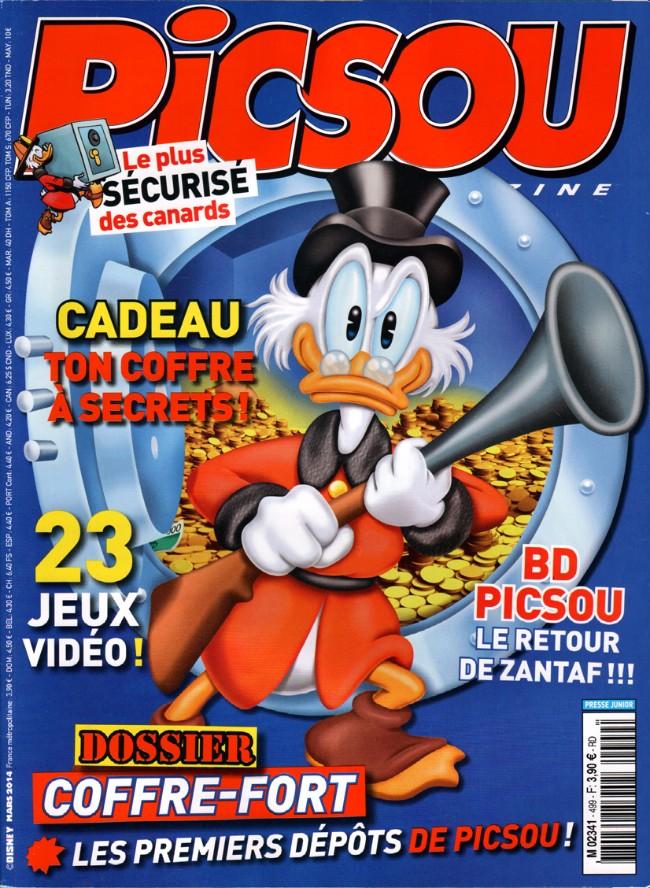 Couverture de Picsou Magazine -499- Picsou Magazine n° 499