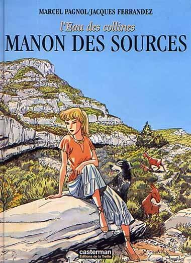 Couverture de L'eau des collines -2- Manon des sources
