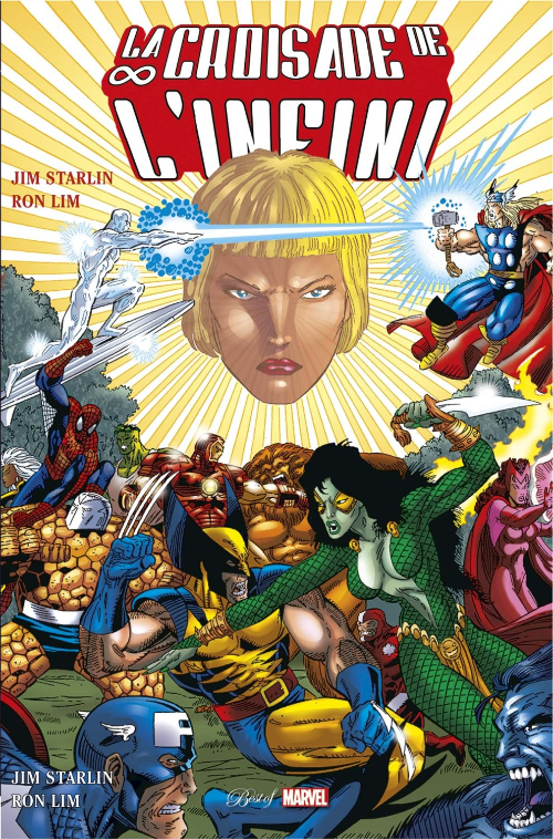 Couverture de Best of Marvel -39- La croisade de l'infini