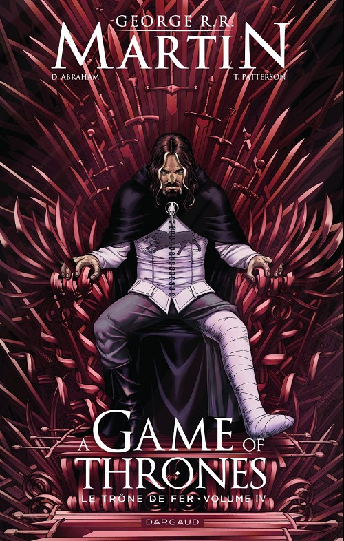 Couverture de A Game of Thrones -4- Le Trône de fer - Volume IV