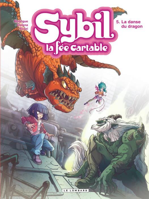 Couverture de Sybil - La fée cartable -5- La danse du dragon