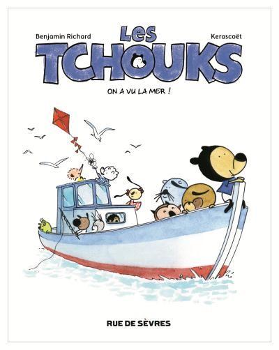 Couverture de Les tchouks -2- On a vu la mer !