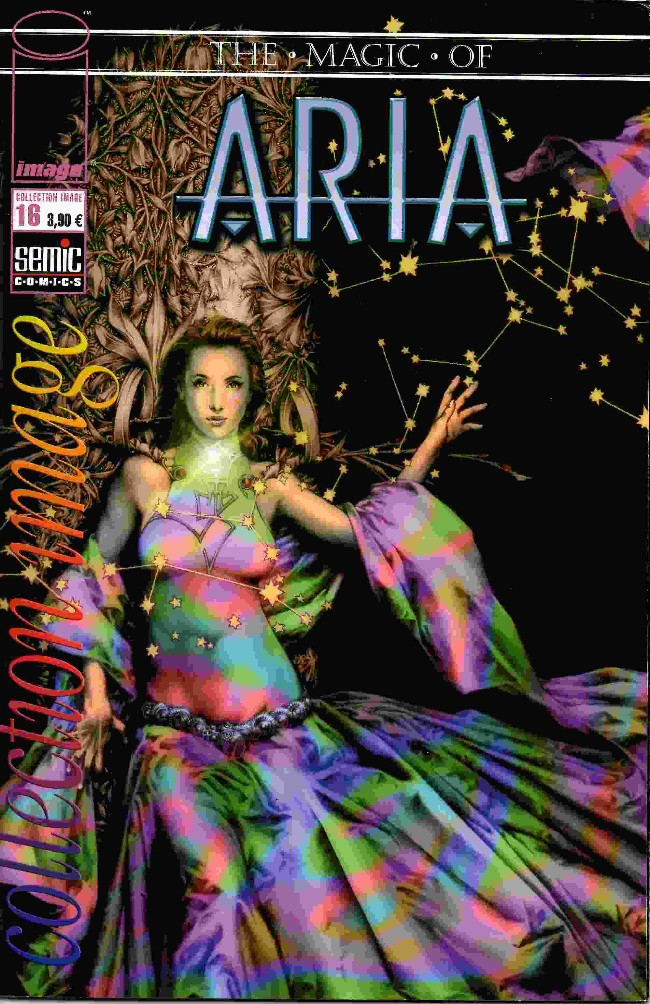 Couverture de Magic of Aria (The) -16- Le Charme de l'été