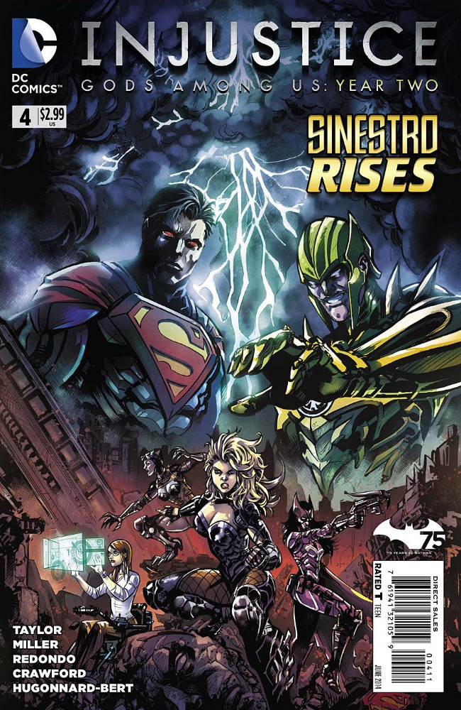 Couverture de Injustice: Gods Among Us: Year Two (2014) -4- Sinestro rises
