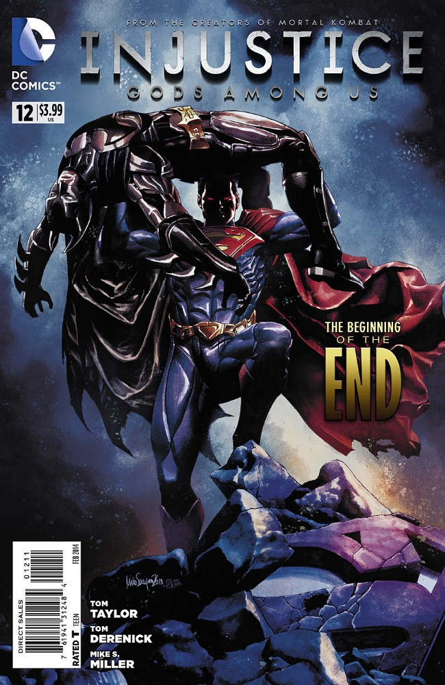 Couverture de Injustice: Gods Among Us (2013) -12- The beginning of the end