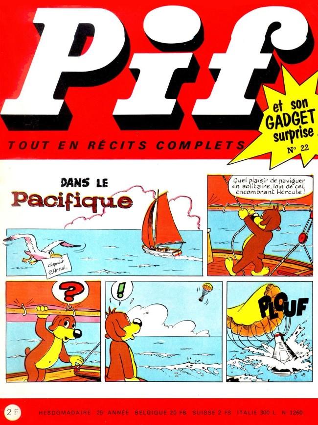 Couverture de Pif (Gadget) -22- Numéro 22