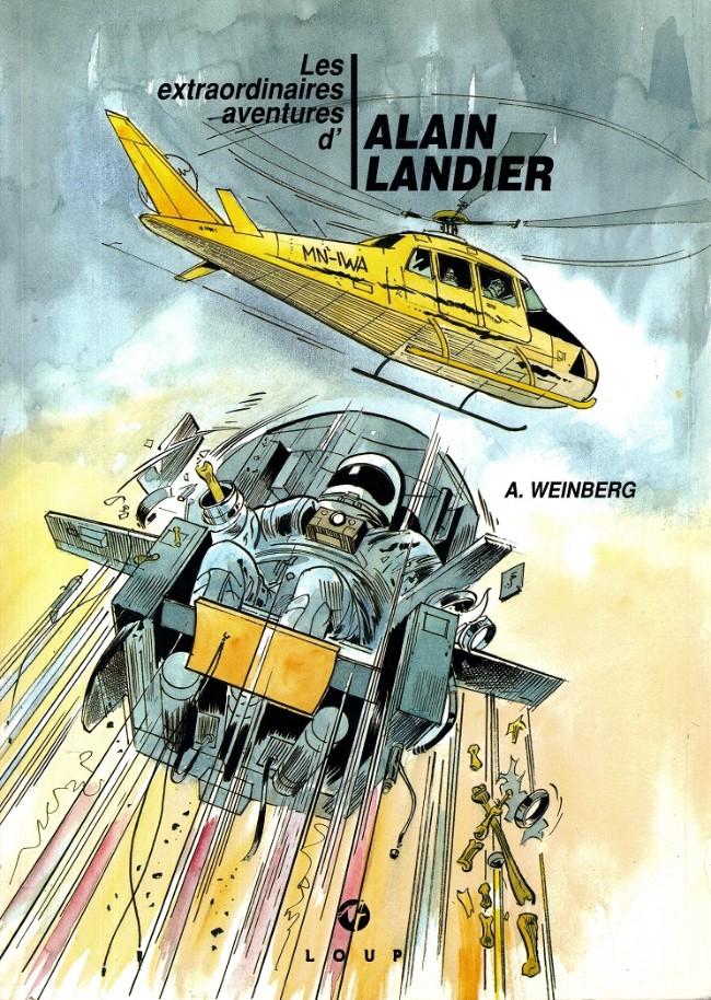 Couverture de Alain Landier (Les extraordinaires aventures d') -2- Tome 2