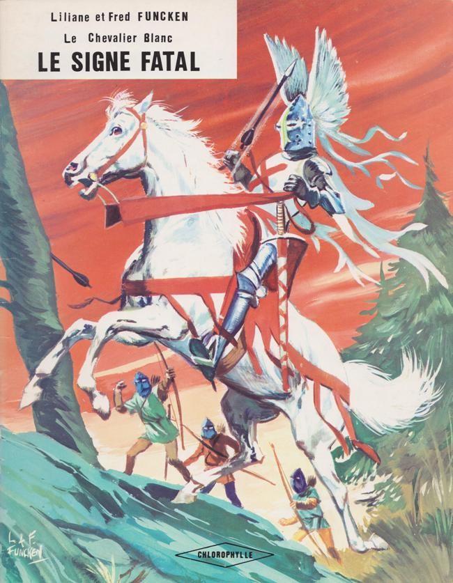 Couverture de Le chevalier blanc -7- Le signe fatal