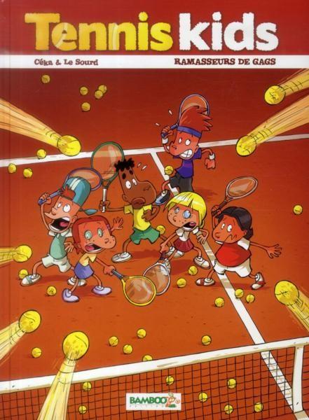 Couverture de Tennis Kids -1- Ramasseurs de gags